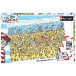 Puzzle 250 pices - O est Charlie ? : Charlie  la plage