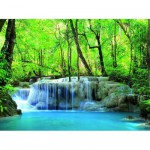 Puzzle 500 pices : Cascade d'Erawan