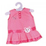 Vtement pour Bb Nenuco 42 cm : Robe rose avec ceinture chat