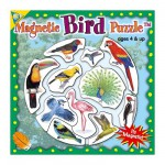 Mini Magnet Jigsaw Puzzle - Birds