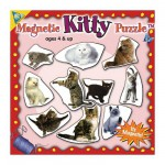 Mini Magnet Jigsaw Puzzle - Cats