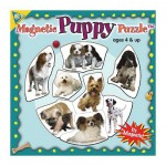 Mini Magnet Jigsaw Puzzle - Dogs