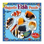 Mini Magnet Jigsaw Puzzle - Fishes