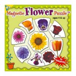 Mini Magnet Jigsaw Puzzle - Flowers