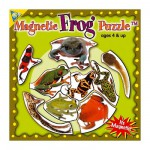 Mini Magnet Jigsaw Puzzle - Frogs