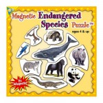Mini Magnet Jigsaw Puzzle - Species in Danger