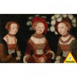 Puzzle 1000 pices - Lucas Cranach : Les trois princesses de Saxe