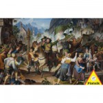 Puzzle 1000 pices - Andreas Hofer en guerre au Tyrol