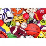 Puzzle 1000 pices - Ballons de sport
