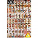 Puzzle 1000 pices - Jeu de cartes