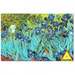 Puzzle 1000 pices - Van Gogh : Les Iris