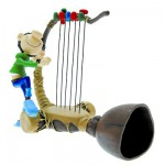 Figurine Gaston Lagaffe Collectoys : Gaffophone