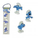 Magnet - Smurf : Set of 3 Mini Magnets