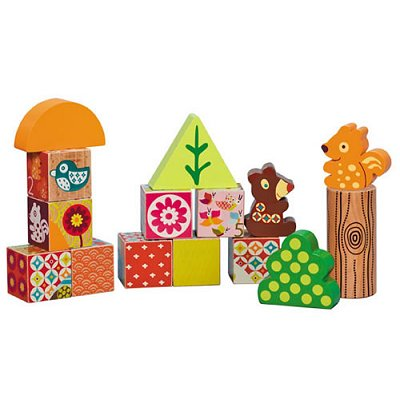 Cubes de construction Les Woodours