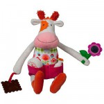 Peluche Peace & Love, la Happy farm : Anémone la vache