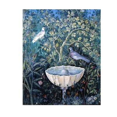 Puzzle d'art en bois 150 pices Michle Wilson - Oiseau au jardin Pompi