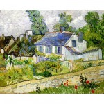 Puzzle d'art en bois 1800 pices Michle Wilson - Van Gogh : Maison  Auvers