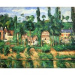 Puzzle d'art en bois 250 pices Michle Wilson - Czanne : Le chteau de Mdan