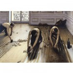 Puzzle d'art en bois 300 pices Michle Wilson-Grosses Pices-Caillebotte : Les raboteurs de parquet