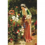 Puzzle d'art en bois 80 pices Michle Wilson - Lewis : Dans le jardin