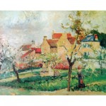 Puzzle d'art en bois 1000 pices Michle Wilson - Pissarro : Le prunier
