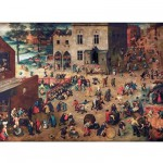 Puzzle d'art en bois 150 pices Michle Wilson - Brueghel : Jeux d'enfant