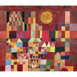 Puzzle d'art en bois 150 pices Michle Wilson  - Klee : Chteau et soleil