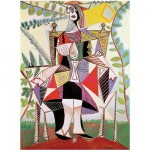 Puzzle d'art en bois 150 pices Michle Wilson - Picasso : Femme au jardin