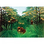 Puzzle d'art en bois 150 pices Michle Wilson - Rousseau : Les singes amoureux