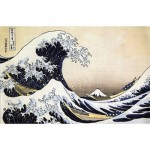 Puzzle d'art en bois 250 pices Michle Wilson - Hokusai : La vague