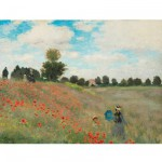 Puzzle d'art en bois 250 pices Michle Wilson - Monet :  Les Coquelicots