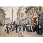 Puzzle d'art en bois 350 pices Michle Wilson - Beraud : Rue de la Paix