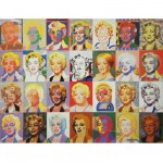 Puzzle d'art en bois 350 pices Michle Wilson - Giovanopoulos : Marylin Monroe