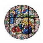 Puzzle d'art en bois 350 pices Michle Wilson - Jardin de Gethsman