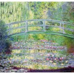 Puzzle d'art en bois 350 pices Michle Wilson - Monet : Le pont japonnais