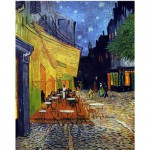 Puzzle d'art en bois 5000 pices Michle Wilson - Van Gogh : Le Caf du soir
