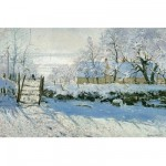 Puzzle d'art en bois 80 pices Michle Wilson - Monet : La Pie
