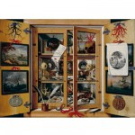 Puzzle en bois - Art maxi 100 pices - Cabinet de curiosit