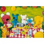 Puzzle en bois - Art maxi 12 pices - L'anniversaire de Pnlope