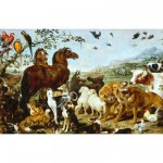 Puzzle en bois - Art Maxi 12 pices - Vos : Entre des animaux de No