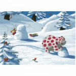 Puzzle en bois  Art maxi 24 pices : Gaste : Surprise  la montagne