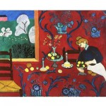 Puzzle en bois - Art maxi 24 pices - Matisse : La desserte rouge