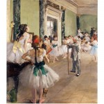 Puzzle en bois - Art maxi 50 pices - Degas : La classe de danse