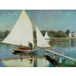 Puzzle en bois - Art maxi 50 pices - Monet : Voile  Argenteuil