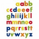 Magnetic Letters - Lower-Case Letters Refill