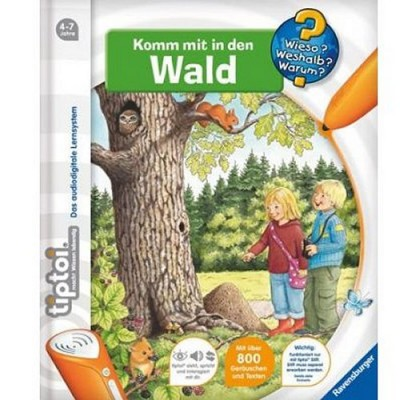 Jeu en Allemand Tiptoi : Komm mit in den Wald