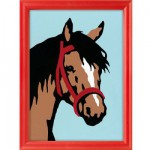 Peinture au numro Numro d'Art Classic : Portrait de cheval Version allemande