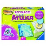 Peinture au numro Numro d'Art Fantastic'Atelier : Recharge bleue