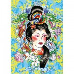 Puzzle 1000 pices - Ed Hardy : Geisha