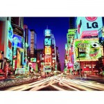 Puzzle 1000 pièces phosphorescent - Star Line : Time Square, New York